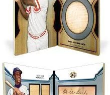 2012 Topps Triple Threads Joe Morgan Bat Knobs