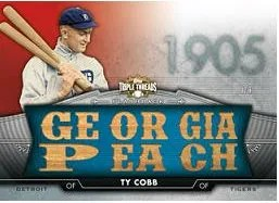 2012 Topps Triple Threads Ty Cobb Flashback Relic