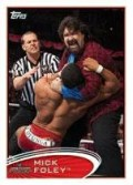 2012 Topps WWE Mick Foley Base Card