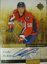 2011/12 Cody Eakin Ultimate Collection Autograph