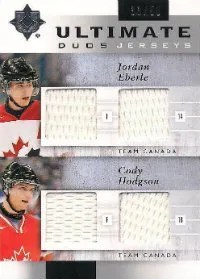 Eberle - Hodgson Dual Jersey Card 11/12 Ultimate Collection