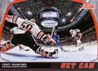 2012/13 Score Hcokey Net Cam #NC3 Corey Crawford Insert Card