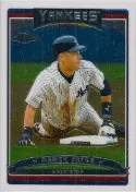 2006 Topps Chrome Derek Jeter Base Card #191