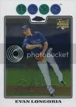 2008 Topps Chrome Evan Longoria RC Card #193