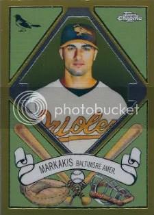 2008 Topps Chrome T205 Nick Markakis Insert Card