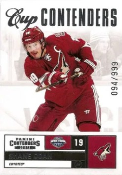 2011-12 Playoff Contenders Cup Contenders #125 Shane Doan Card