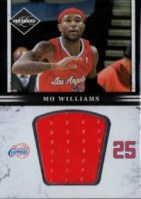 2011-12 Panini Limited Jumbo Mo Williams Jersey Card