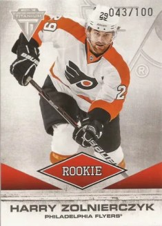 2011-12 Panini Titanium Hockey #171 Harry Zolnierczyk RC