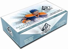 2011-12 Upper Deck SP Authentic Hockey Box Photo