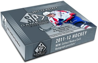 2011-12 Upper Deck SP Game Used Hockey Hobby Box