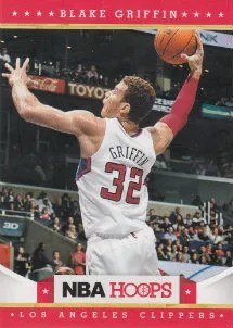 2012-13 Panini NBA Hoops Blake Griffin Base Card