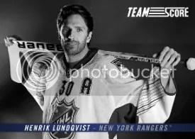 2012-13 Team Score Henrik Lundqvist Insert Card