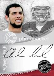 2012 Press Pass Andrew Luck Autograph Power Pick