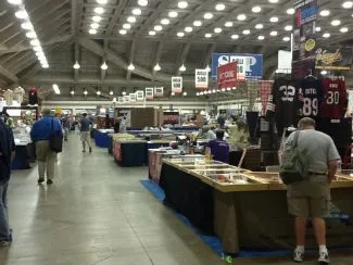 2012 National Sports Collectors Convention Show Floor