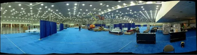 2012 National Sports Collectors Convention Floor