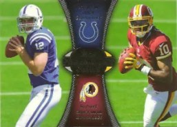 2012 Paramount Pairs Andrew Luck - Robert Griffin III Card