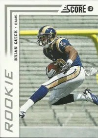 2012 Score Biran Quick SP Photo Variation Rookie