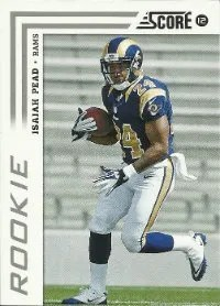 2012 Score Football Isaiah Pead Rookie Card