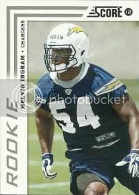 2012 Score Melvin Ingram Rookie Card