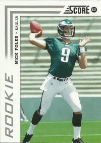 2012 Score Nick Foles Rookie Card #360