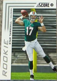 2012 Score Ryan Tannehill SP Photo Variation RC