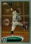2012 Topps Chrome Ichiro Base Card #100