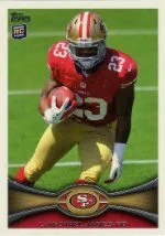 2012 Topps LaMichael James SP Photo Variation RC Card