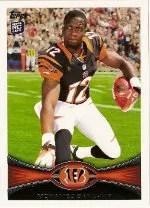 2012 Topps Mohamed Sanu SP Photo Variation RC #151