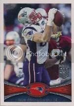 2012 Topps Rob Gronkowski Base Card #70