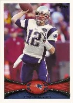 2012 Topps Tom Brady Base Card #400