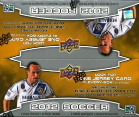 2012 Upper Deck MLS Soccer Box