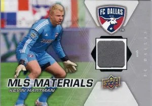 2012 Upper Deck MLS Materials Kevin Hartman Card