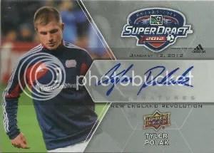 2012 Upper Deck MLS Super Draft Autograph #SDS-TP Tyler Polak