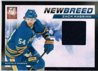 2011-12 Donruss Elite New Breed Zack Kassian Material Card #29