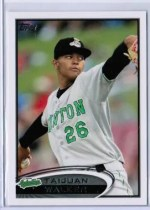 2012 Topps Pro Debut Taijuan Walker Variation RC