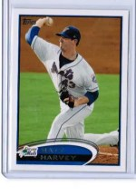 2012 Topps Pro Debut Matt Harvey Variation