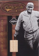 2011 Panini Limited Lumberjacks Bat Shoeless Joe Jackson Card #2