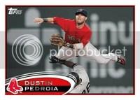 2012 Topps Series 2 Dustin Pedroia Base