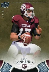 2011 Upper Deck Exquisite Ryan Tannehill RC #/99