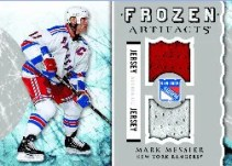 2012-13 Upper Deck Artifacts Mark Messier Frozen Artifacts