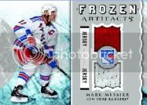 2012-13 Upper Deck Artifacts Mark Messier Frozen Artifacts