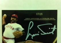 2012 Topps Tier 1 Crowd Pleaser Autograph
