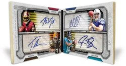 2012 Topps Strata Quad Book Card
