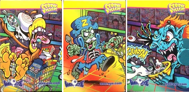 Cereal Killers Series 1 Magnet Card Set