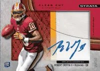 2012 Topps Strata Robert Griffin III Clear Cut Auto
