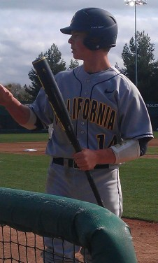 Tony Renda - Cal 2B - 2012 MLB Baseball Draft Prospect