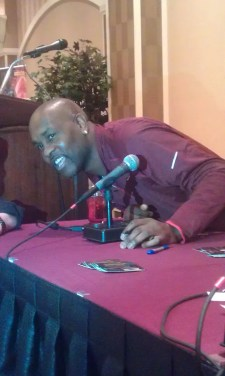 Gary Payton At The 2012 Las Vegas Industry Summit