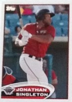 2012 Topps Pro Debut Jonathan Singleton Base
