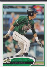 2012 Topps Pro Debut Christian Yelich Card