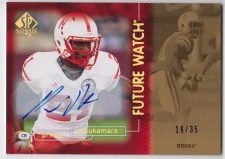2011 UD Sp Authentic Prince Future Watch Auto RC